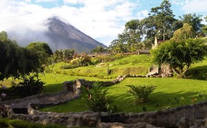 This is the beauty of Arenal Volcano Costa Rica