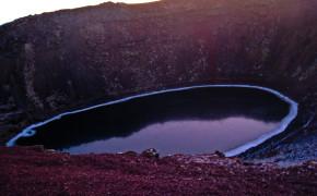 kerid bjork crater iceland