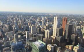 Toronto Skyline: CN Tower in Toronto, Canada