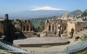 Greek Theater at Taormina Sicily
