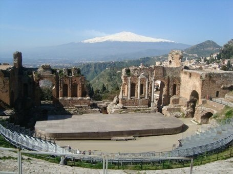 Greek Theater at Taormina Sicily