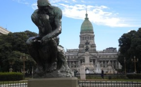 Buenos Aires Sightseeing: The Thinker