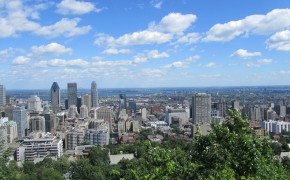 Mont Royal, Montreal skyline, views from Mont Royal