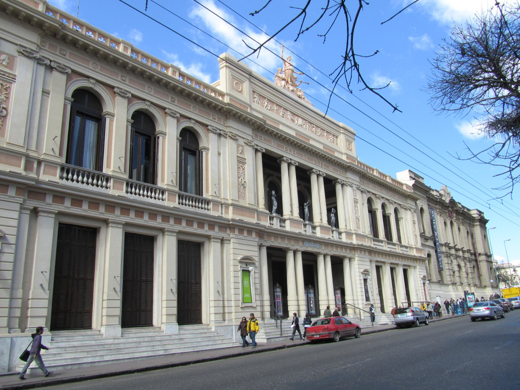 theaters in argentina, argentina architecture, pictures of cordoba