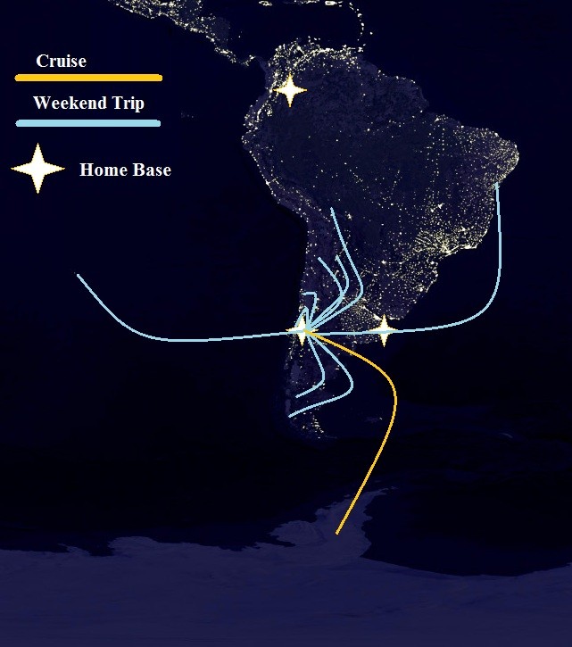 map of south america, map of chile, south america, south america at night