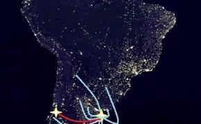 map of south america, map of south america at night, map of argentina, itinerary around the world