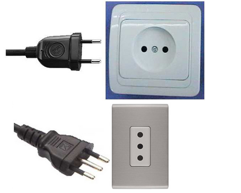 Outlet plug in Chile, Outlet plug in south america, electrical outlets in Chile, plugs in Chile