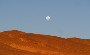 The Moon In The Andes - Alto Plano, Chile