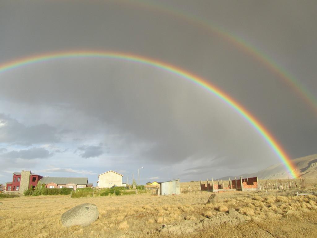 double rainbow, double rainbow pictures, rainbows, double rainbows, pictures of argentina, rainbows in argentina