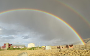 double rainbow, double rainbow pictures, rainbows, double rainbows, pictures of argentina, rainbows in argentina