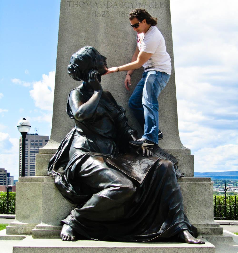 Statues in Ottawa Canada