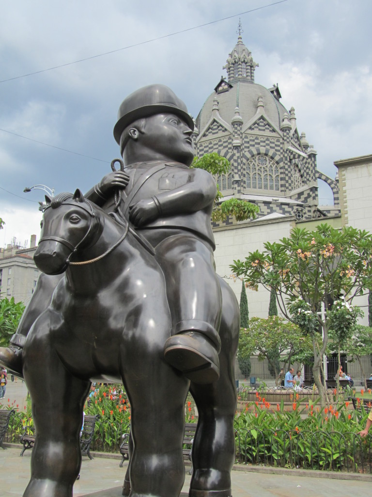 Botero, Botero sculptures, things to do in Medellin, medellin tourist attractions, fat people scultpures