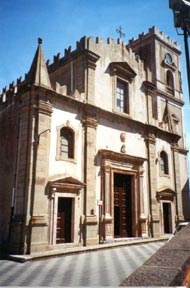 church where they filmed the godfather in savoca, churches in sicily, churchces in italy, godfather shooting locations, godfather filming locations