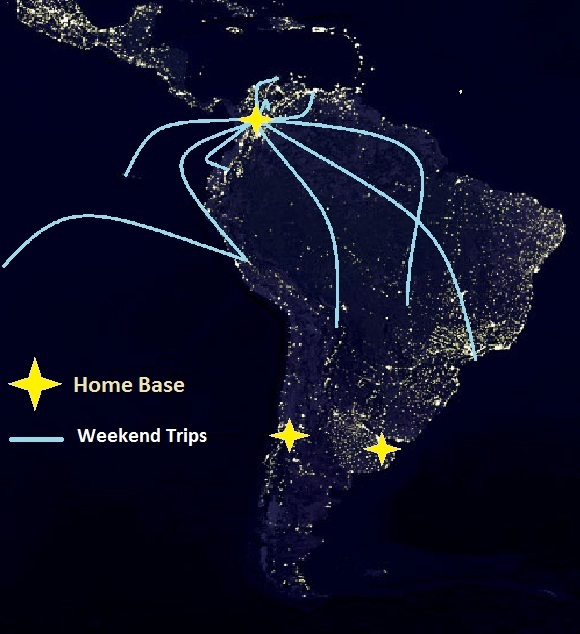 map of colombia, itinerary around the world, travel around the world, map of south america, earth at night, map of the earth