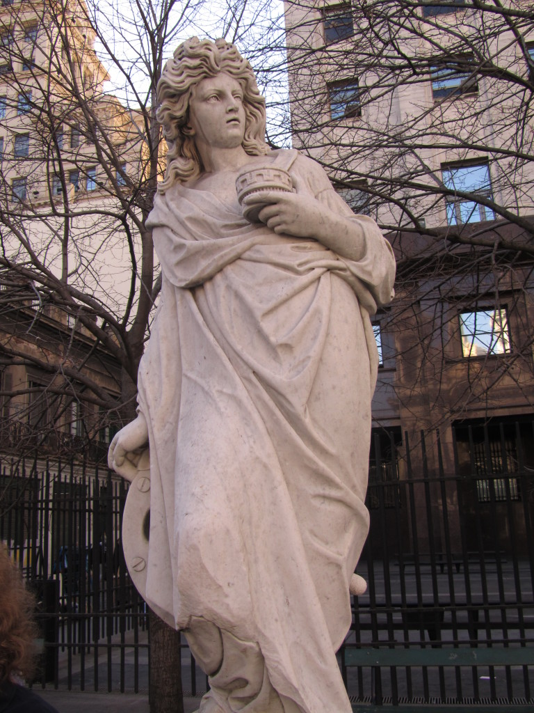statues in buenos aires, statues in argentina, european statues