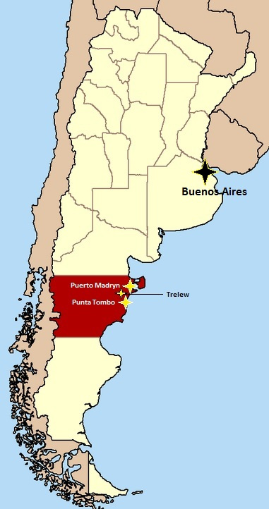 puerto madryn, chubut, chubut argentina, trelew, map to of argentina, map of puerto madryn