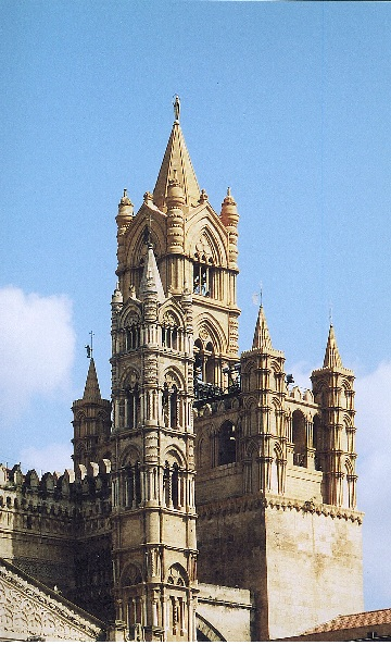 cathedral in parlemo, pictures of palermo, pictures of sicily, cathedrals in sicily, churches in italy, photos of sicily