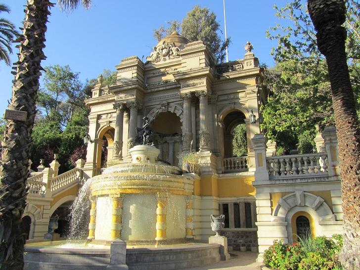 Cerro Santa Lucia, Santa Lucia Chile, Santa Lucia Santiago, Santa Lucia pictures,