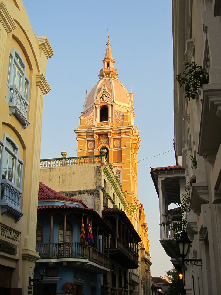 church in Cartagena, cartagena pictures, cartagena churches, cartagena old city