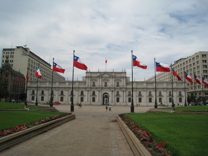 la moneda santiago, la moneda chile, presidential palace chile, pictures of la moneda, things to see in chile, things to do in chile, chile tourist attractions