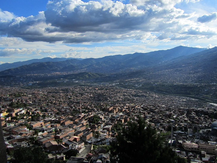 Medellin valley, pictures of medellin, black church medellin
