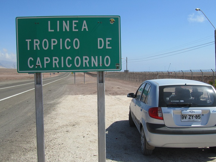 tropic of capricorn in Chile, Tropic of Capricorn, Tropic of Capricorn south america, where you can see the Tropic of Capricorn in south america, pictures of chile, pictures of atacama desert