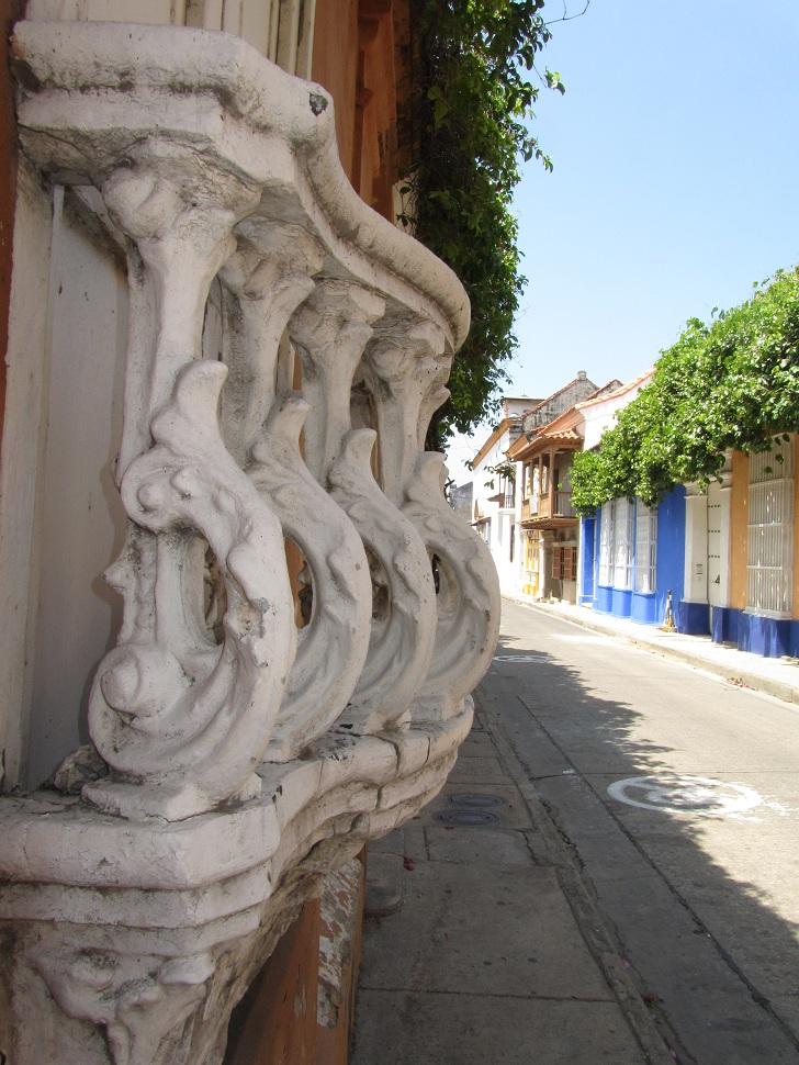 balcony in cartagena, old city cartagena, balconies cartagena