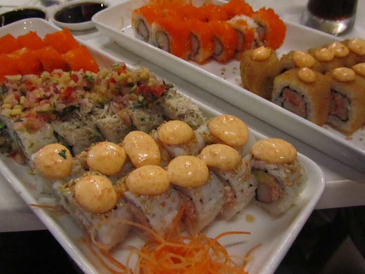 sushi in medellin, pictures of sushi, sushi pictures, sushi in south america, sushi in colombia