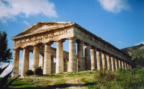 segesta temple, sicily greek temples, doric temple segesta, greek temple