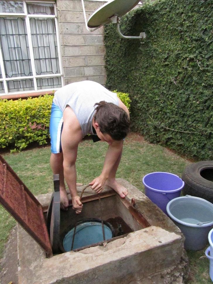 borehole in kenya, living in africa, living in kenya