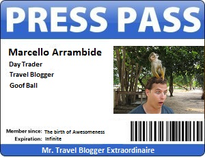 press pass, picture of press pass