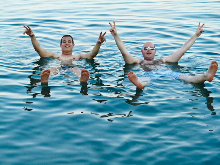 Floating In The Dead Sea: Israel