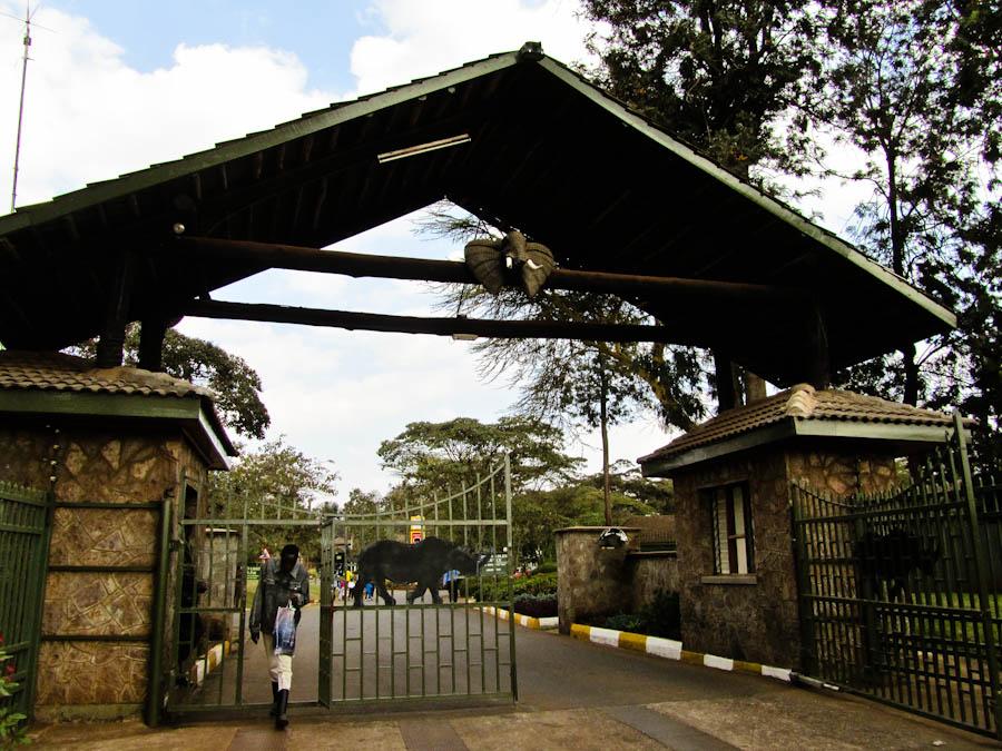 Nairobi National Park Entrance, nairobi national park, national park in nairobi