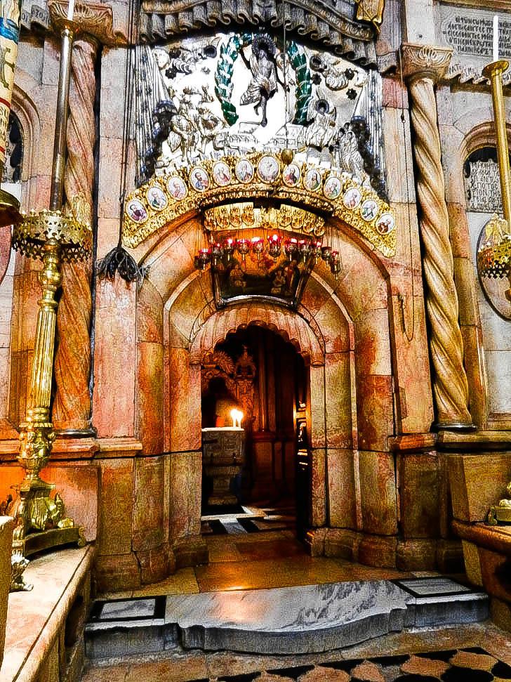 tomb of jesus jerusalem