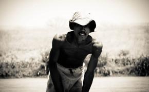 A fisherman in Madagascar, fisherman