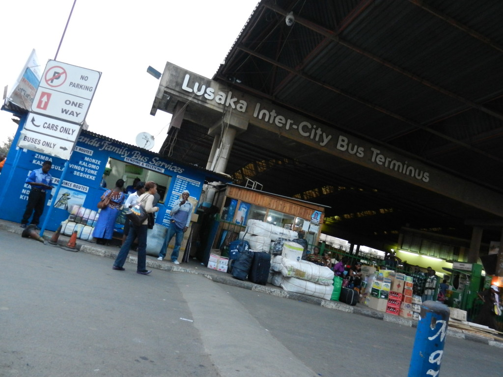 Bus Station in Lusaka, bus stations in africa