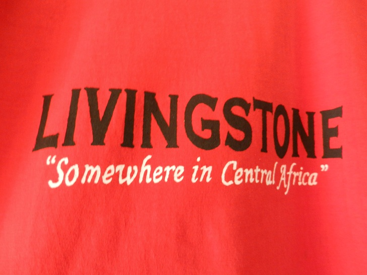 Funny T-shirt from Livingstone, Zambia