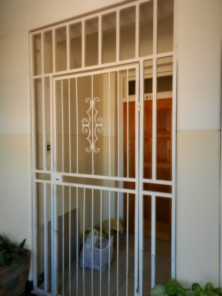 Gated doors in Johannesburg