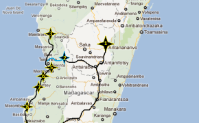Map Of Madagascar, madagascar map