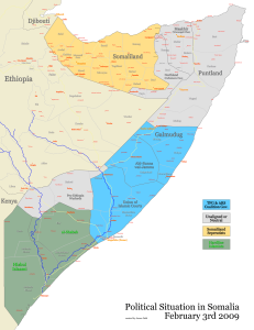 Map of Somalia, Somalia map, somaliland map, puntland map