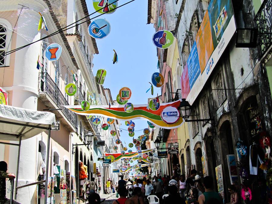 Streets of Salvador, carnival in salvador,