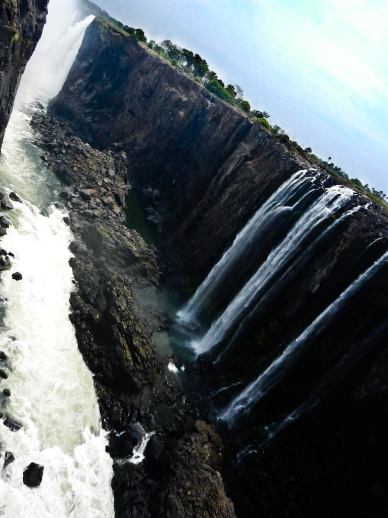 The Victoria Falls Gorge