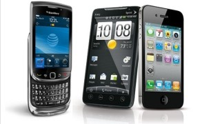 blackberry iphone android