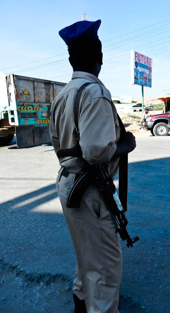somaliland security guard, Somali Security Guard