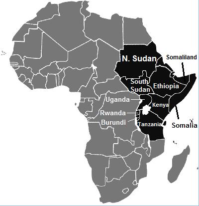 east africa, eastern africa