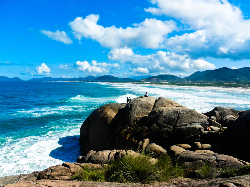 Beautiful Beach In Florianopolis, Brazil