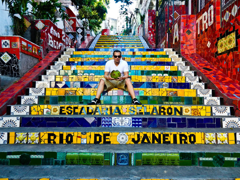 famous steps in rio de janeiro