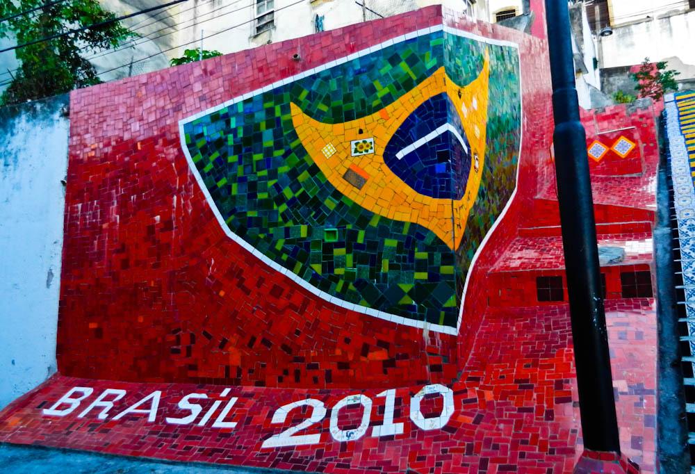the famous steps in rio de janeiro