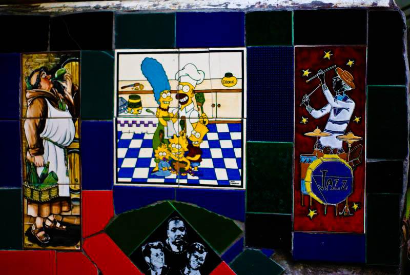 tiles famous steps in rio de janeiro