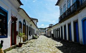 Streets Of Paraty, Brazil